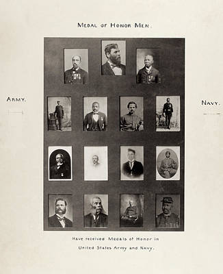 Medal Of Honor Recipients Poster
