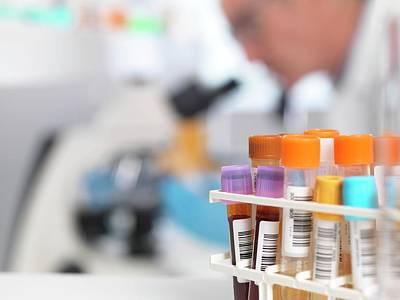 Medical Tests Poster by Tek Image