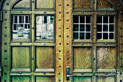 Medieval Doors Poster by Colleen Kammerer