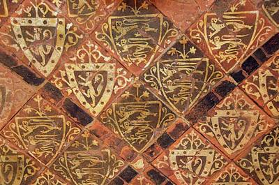 Medieval Floor Poster by Sinclair Stammers