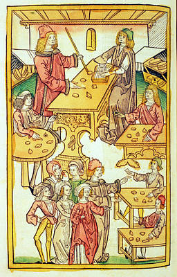 Medieval Mineralogy Poster by National Library Of Medicine