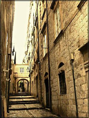 Medieval Street Poster