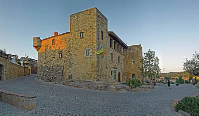 Medieval Town Of Pals In Costa Brava Poster
