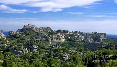 Medieval Village Of Les Baux De-provence. Alpilles. France Poster by Bernard Jaubert