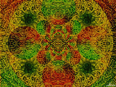 Meditate Poster