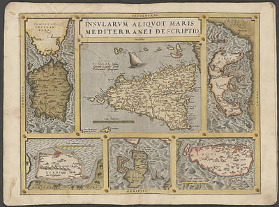 Mediterranean Islands Poster by British Library