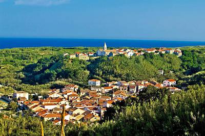 Mediterranean Town Of Susak Croatia Poster
