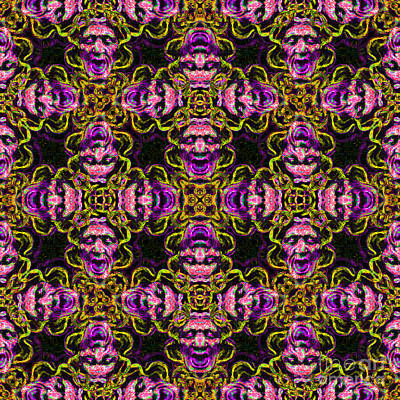 Medusa Abstract 20130131m138 Poster by Wingsdomain Art and Photography