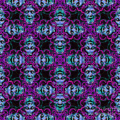 Medusa Abstract 20130131m180 Poster