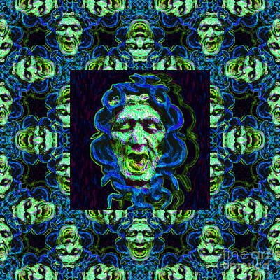 Medusa's Window 20130131p90 Poster by Wingsdomain Art and Photography