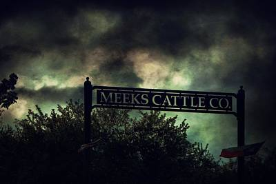 Meeks Cattle Poster