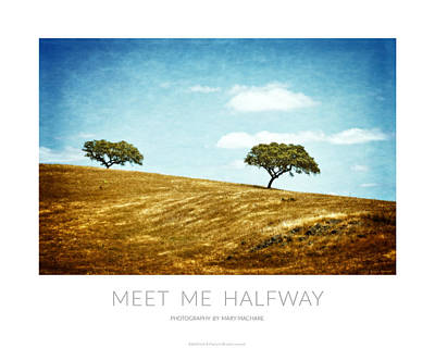 Meet Me Halfway - Poster Poster by Mary Machare