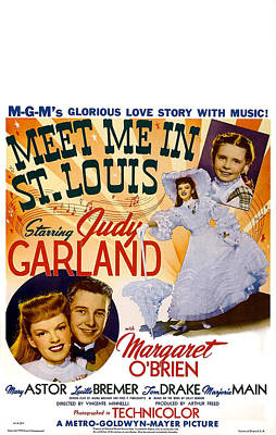 Meet Me In St. Louis, Us Poster Art Poster by Everett