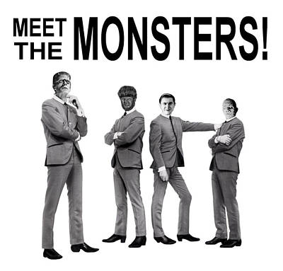 Meet The Monsters Poster