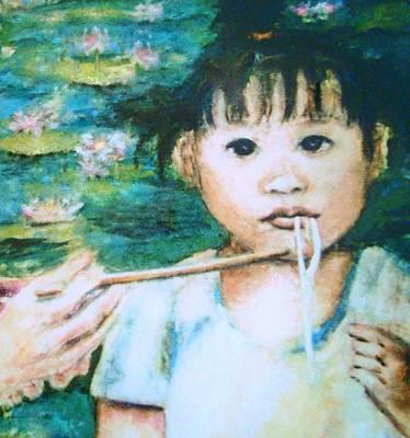 Mei Mei Eat Eat Poster by Shannon Lee