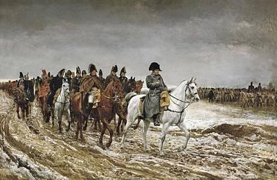 Meissonier, Ernest 1815-1891. Napoleon Poster