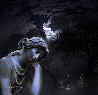 Melancholia  Poster by Casey Jones