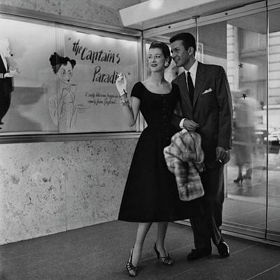 Melissa Weston With A Man At A Movie Theater Poster