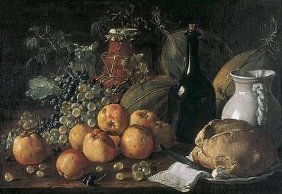 Mel�ndez O Men�ndez, Lu�s 1716-1780 Poster