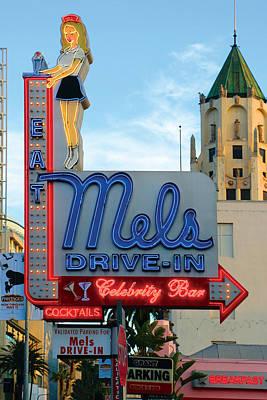 Mel's Drive In Poster by Bill Jonas