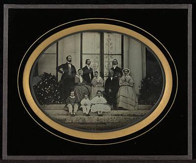 Members Of Eynard Family And Friends Jean-gabriel Eynard Poster by Litz Collection
