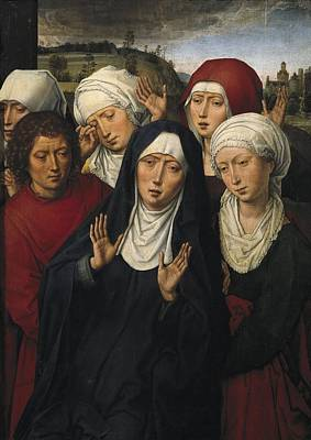 Memling, Hans 1433-1494. The Weeping Poster by Everett