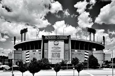 Memorial Stadium Poster by Benjamin Yeager