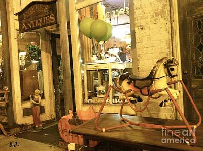Poster featuring the photograph Memories For Sale by Geri Glavis
