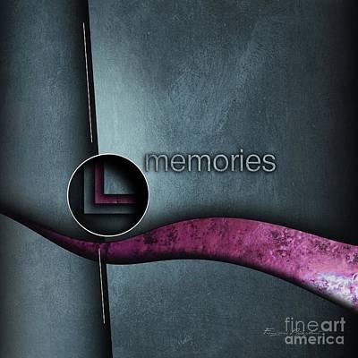 Memories Poster by Franziskus Pfleghart
