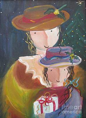 Poster featuring the painting Memories by Nereida Rodriguez