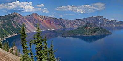 Memories Of Crater Lake Poster
