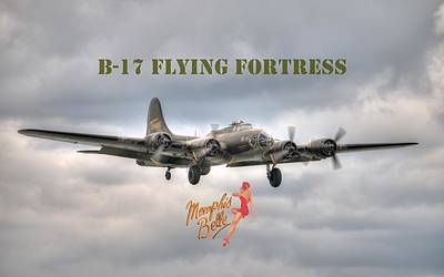 Memphis Belle Poster by Jeff Cook