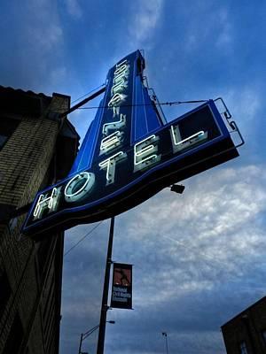 Memphis - Lorraine Motel 002 Poster by Lance Vaughn