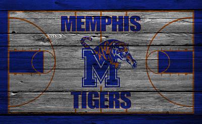 Memphis Tigers Poster by Joe Hamilton
