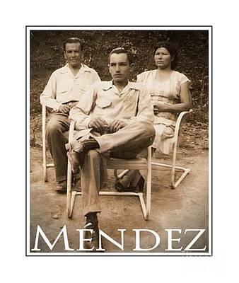 Mendez Poster by Lilliana Mendez