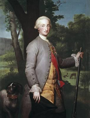 Mengs, Anton Raphael 1728-1779. Charles Poster