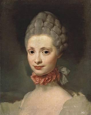 Mengs, Anton Raphael 1728-1779. Maria Poster