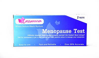 Menopause Test Poster