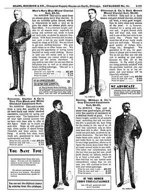 Menswear, 1902 Poster by Granger