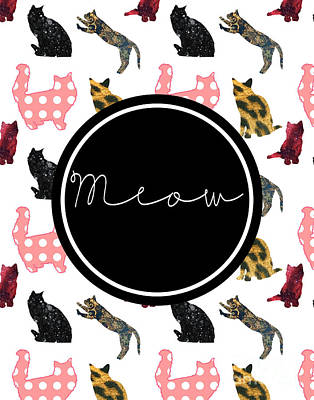 Meow Poster by Pati Photography