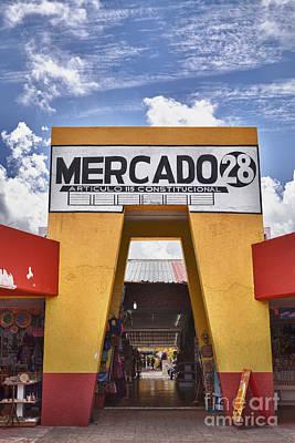 Mercado 28 In Cancun Poster