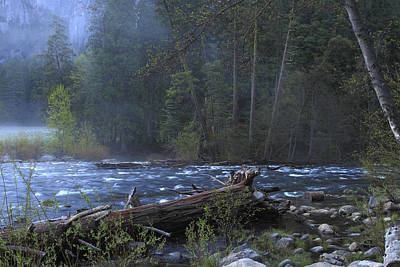 Poster featuring the photograph Merced River by Duncan Selby