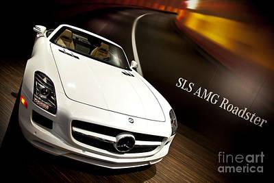 Mercedes Amg Roadster 01 Poster by Kamil Swiatek