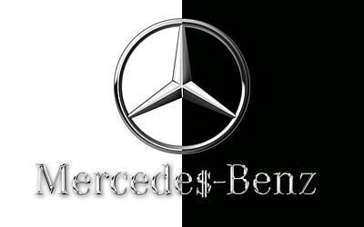 Mercedes-benz Logo Poster