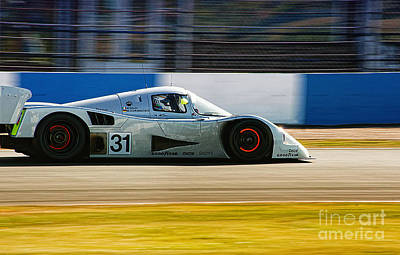 Mercedes C11 Poster by J A Evans