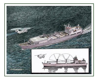 Marine Sea Lift Poster
