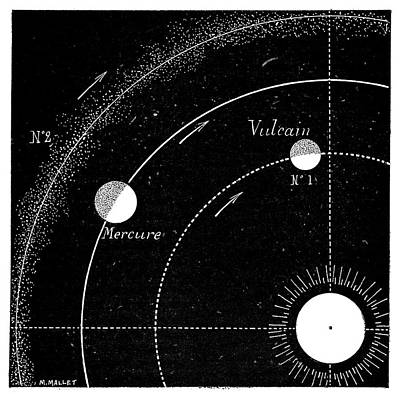 Mercury Orbit Hypotheses Poster by Science Photo Library