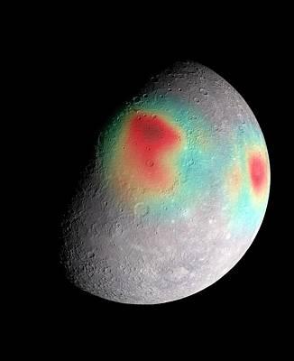 Mercury's Gravity Field Poster