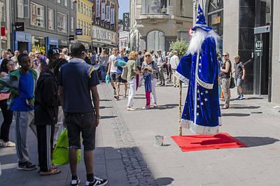 Merlin - Nyhavn Shopping - Copenhagen Denmark Poster
