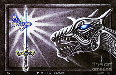 Merlin's Dragon Poster